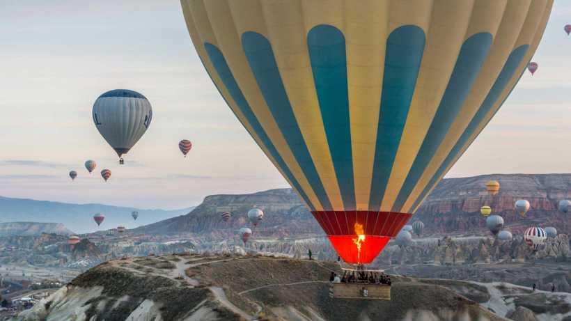 رحلة البالون كابادوكيا