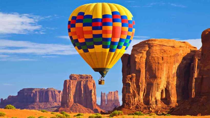 رحلة البالون الساخن كابادوكيا