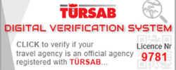 تحقق من شركتنا على موقع وزارة السياحة التركية