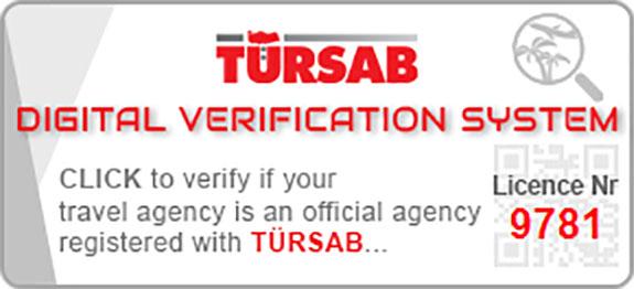 موقع شركتنا في وزارة السياحة التركية