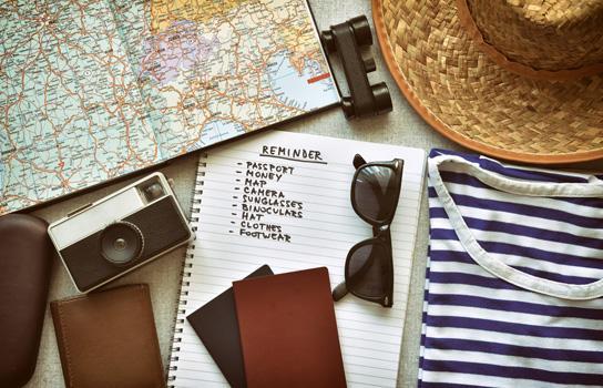اغراض السفر